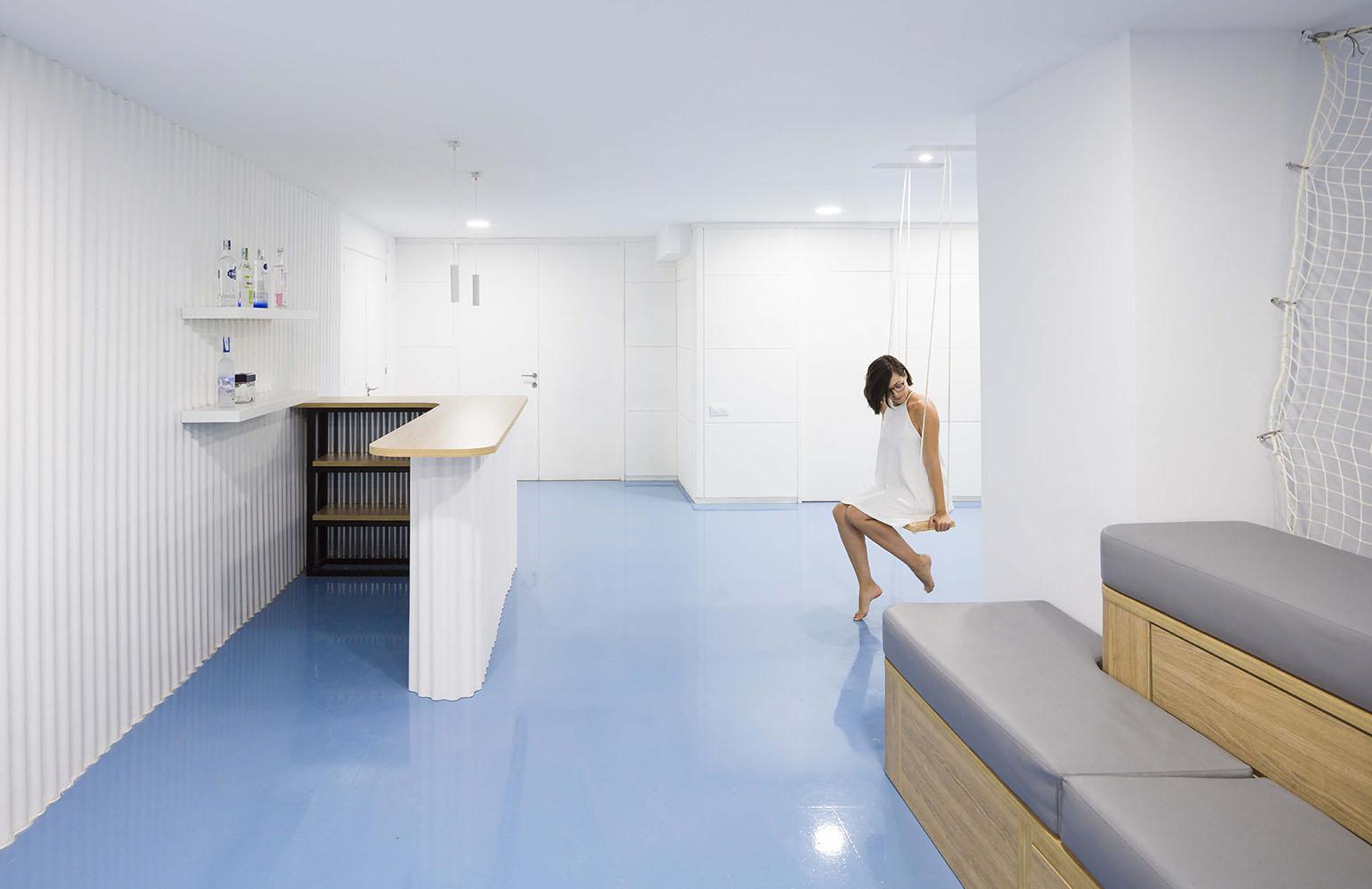 clap diseño interior oficinas google interiorismo creative agency